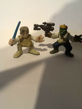 Star Wars-Galactic Heroes-TATOOINE LUKE & Barada (Jabba's Skiff Guard)