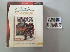 Heavy Gear -NEUF & Emballé- UBISOFT PC FR Big Box carton Eurobox