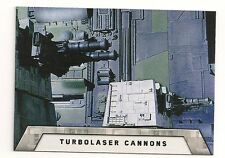 2016 TOPPS STAR WARS ROGUE ONE MISSION BRIEFING DEATH STAR #7 TURBOLASER CANNONS