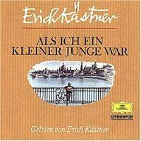 ERICH KÄSTNER - ALS ICH EIN KLEINER JUNGE WAR  CD  3 TRACKS HÖRBUCH  NEU