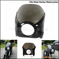 """5.75"""" Motorcycle Glide Headlight Fairing Windshield Cover For Harley Sportster"""