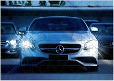 Mercedes C63 AMG V8 A4 JIGSAW Puzzle Birthday Christmas (Can Be Personalised)
