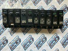 GE  THQB1120, (1) LOT OF (10) 20 AMP 1 POLE 120 VOLT Circuit Breakers- WARRANTY