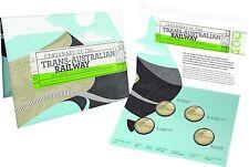 CENTENARY OF THE TRANS-AUSTRALIAN RAILWAY - 2017 Four Coin Uncirculated Mintmark