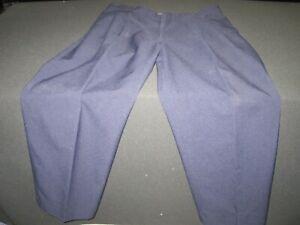 ELBECO navy blue UNIFORM SECURITY pants slacks size 38R work pants blue ~9979