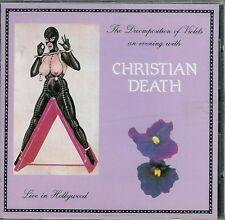 Christian Death Decomposition of Violets Italian CD