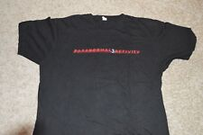 PARANORMAL ACTIVITY 3 Horror movie rare promotional t-shirt  Adult Large