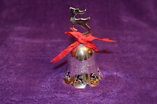 Vintage International Silver Co. 1994 Christmas Silverplated Bell
