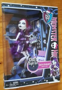 2012 Vintage Monster HIGH Spectra Vondergeist Ghoul's Night Out New in Box