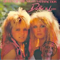 DOLLIE DE LUXE queen of the night/satisfaction MAXI 1985 GEORGES MARY EX++