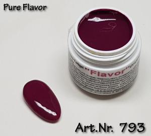 5 ml  UV Exclusiv Farbgel Pure Flavor Gel purple Lila 793