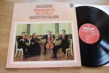 BOCHERINI string quartets QUARTETTO ITALIANO LP Philips 9500 305