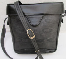 Magnique sac à main TEXIER toile et cuir TBEG vintage bag
