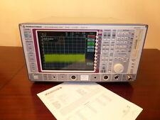 Rohde & Schwarz FSEA30 20 Hz to 3.5 GHz Spectrum Analyzer - CALIBRATED!