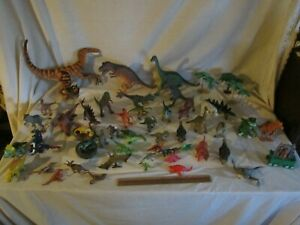 Dinosaurs Mixed Lot Prehistoric Animals Toys Preowned