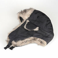 NEW MENS BREATHABLE WINTER WARM SHOWER PROOF HUNTER FAKE FUR TRAPPER SKI HAT 01