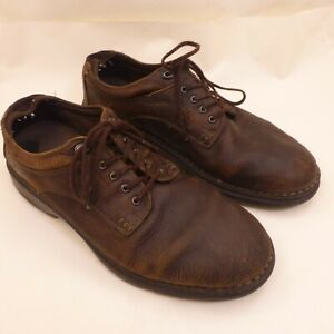 TIMBERLAND 'Madison Summit' Brown Leather Oxfords Work Shoes Mens Size 13M
