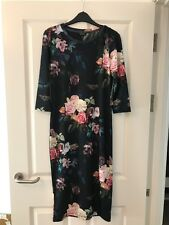 Floral Topshop Bodycon Dress Size 12 BNWT