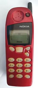 SIMPLE RED NOKIA 5146 CHEAP MOBILE PHONE -UNLOCKED WITH NEW CHARGAR AND WARRANTY