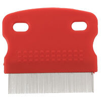 Fine Toothed Clean Comb for Pet Cat Dog Hair Brush for Flea Steel Small TS