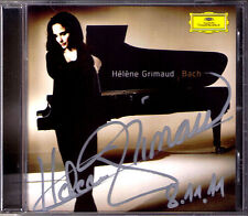 Helene Grimaud signé Bach Piano Concerto 1 PRELUDES Well-Tempered Clavier CD