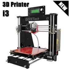 Acrylic Geeetech Reprap Prusa i3 3D Drucker Printer MK2A Heatbed MK8 Extruder