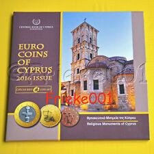 Cyprus - Chypre - Officiële BU Set 2016.