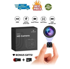 Small Hidden Mini Tiny Spy Camera Secret for Home or Car with Motion Detection