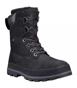 Timberland Men's  Snow Drifter Black Waterproof Boot Size:8.5