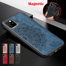 New Design Magnetic Case For iPhone 11 Pro Max XR 8 7 Cloth Texture Hybrid Cover