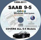 SAAB 9-5 1998-TO-2011 WIS ALL MODELS MASTER WORKSHOP SERVICE MANUAL SYSTEM CD