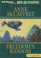 Anne McCaffrey Freedom's Ransom MP3 CD Audio Book Unabridged Freedom Series IV