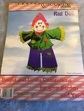 The Country Shoppe Collection Rag Doll Decorate Your Yard Or Garden