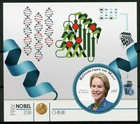 Mali 2018 MNH Nobel Prize Winners Chemistry Frances Arnold 1v M/S Science Stamps