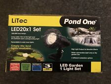 Pond One LiTec LED 50x1 Garden Light Set Single Inc Transformer (93055)