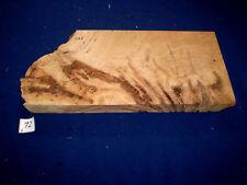 Eiche Maser   Drechselholz schreinern ca. 350 x 185 x 27  mm  Nr. C72