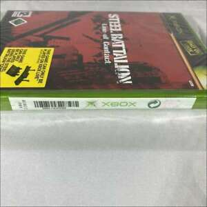 Steel battalion line of contact og Xbox game sealed
