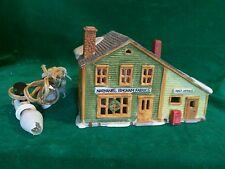 "Dept. 56 Heritage Village Collection - ""Nathaniel Bingham Fabrics & Post Office"""