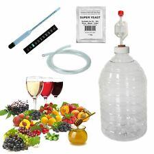 Wine Making kit complet Démarreur 4.5 L 6 Bouteille Hydromel cidre Ginger Beer P...