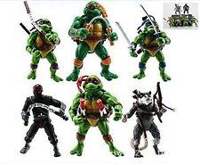 TMNT Teenage Mutant Ninja Turtles Action Figures Anime Movie Gift (6 PCS-SET)