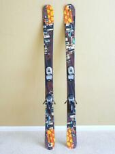 148cm K2 FUJATIVE Twin Tip Park / Pipe Skis w/ MARKER M 700 Bindings