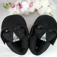 Star Wars Darth Vader Slippers Or House Shoes Boys 13-1