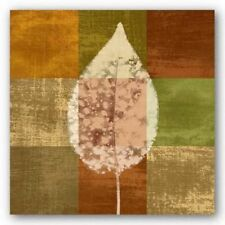 Fall Leaf I Paula Scaletta Art Print 12x12