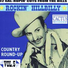 ROCKIN' HILLBILLY Volume 5 CD Hillbilly Bop 1940s 1950s NEW rockabilly