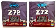2 PACK KMC Z72  6 7 8 SPEED BICYCLE CHAIN 116L Road MTB SHIMANO SRAM CAMPAGNOLO