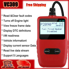Universal OBD2 Car Code Reader Check Engine Fault Code Scanner Diagnostic Tool