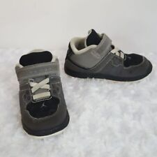 Jordan Toddler Boy 7 Sneakers Gray Black Athletic Kids Shoes Baby