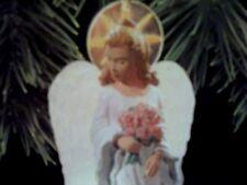 1997 Hallmark Magic GLOWING ANGEL Ornament  LIGHTS UP -NEW-MINT-NEVER DISPLAYED