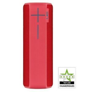 UE BOOM 2 Wireless Bluetooth Waterproof Speaker for Mobile Phone/Tablet, Red NEW
