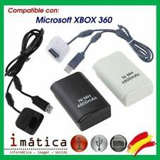 Baterías de Microsoft Xbox 360 para consolas de videojuegos
